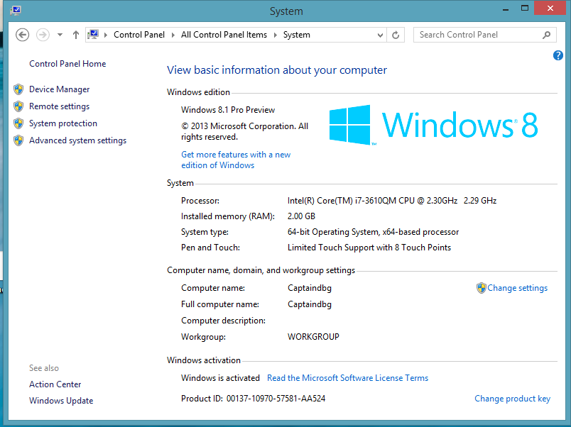 cd-key windows 8.1 2017