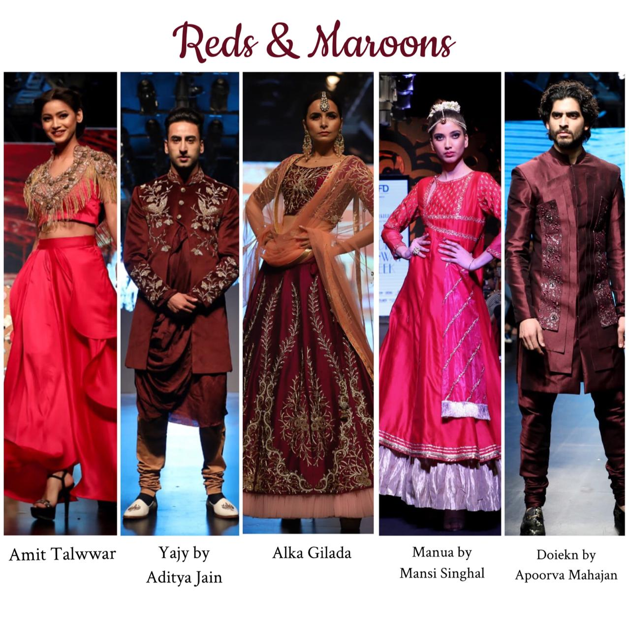 Trend report straight from India Runway Week 2019? | The